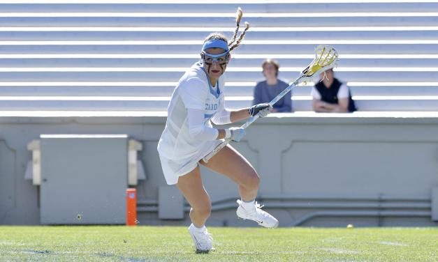Olivia Ferrucci Steps Up Late to Push UNC Women's Lacrosse Past No. 17 Virginia Tech