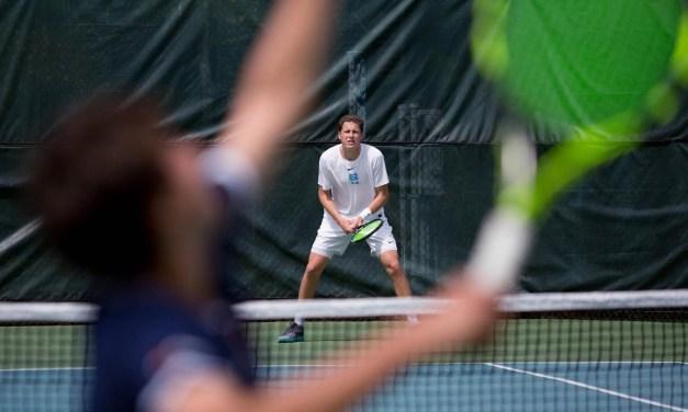 Men's Tennis: Tar Heels Knock Off Visiting Georgia Tech