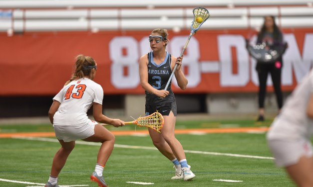 No. 5 UNC Women's Lacrosse Explodes for 12 Second-Half Goals in Win Over Syracuse