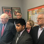 NC Congressman and Local Officials Join El Centro to Speak on Recent ICE Arrests