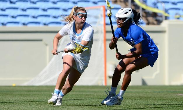 Ortega's Seven Goals Carry UNC Women's Lacrosse Past Duke in Regular Season Finale