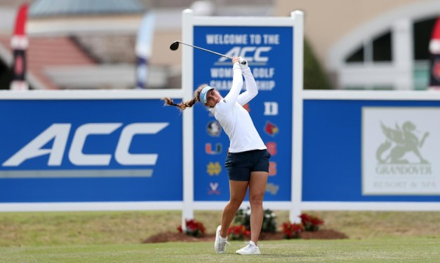 Women's Golf: UNC Finishes Tied for Eighth at ACC Championship