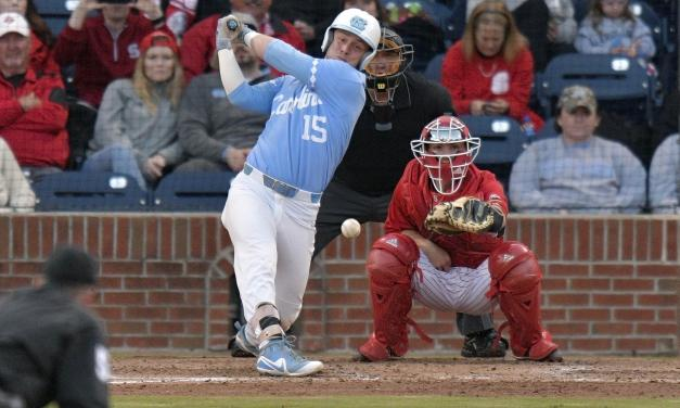 Diamond Heels Topple No. 3 NC State 6-5 in Friday's Series Opener