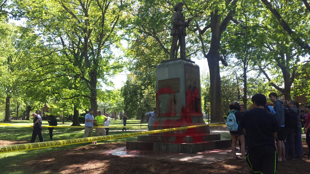 Protest Leads to Arrest at UNC's Silent Sam