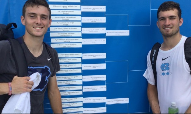Robert Kelly, William Blumberg Make NCAA Men's Doubles Quarterfinals For Second Straight Year