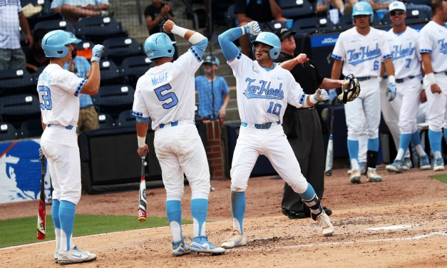 Tar Heels Close ACC Baseball Tournament Pool Play With 9-0 Shutout Win Over Georgia Tech