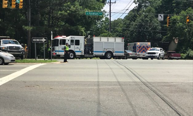 Significant Crash in Chapel Hill on Fordham Boulevard