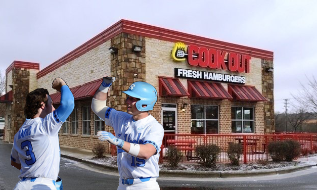 UNC Baseball Players Find Strength in Cook Out