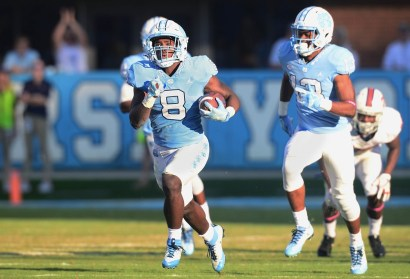 Michael Carter Named ACC Running Back of the Week