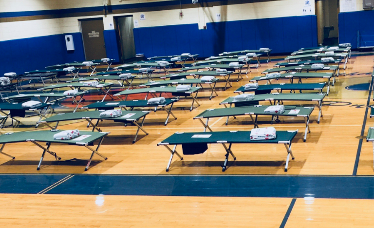 160 Residents in Orange County Emergency Shelters Ahead of Hurricane Florence