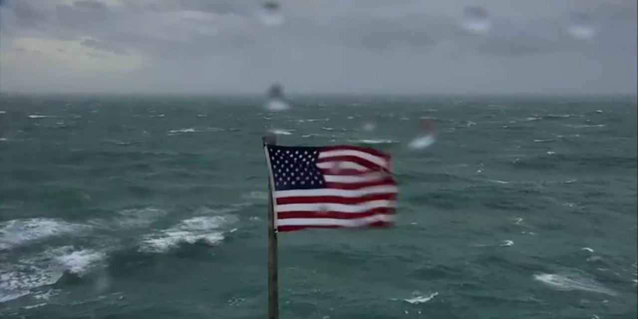 3 Live Cameras Show Hurricane Florence's Approach