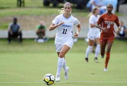 Women's Soccer: Tar Heels Cruise to 3-0 Victory Over Pittsburgh