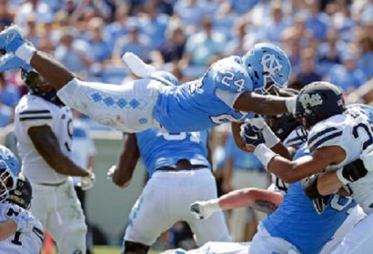 UNC Football Tops Pittsburgh at Kenan Stadium, Earns First Victory of 2018