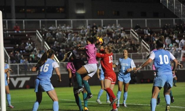 No. 3 UNC Women's Soccer Picks Up 2-0 Victory Over Virginia Tech