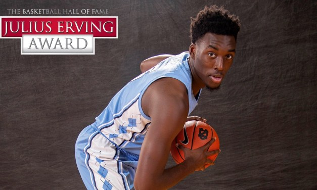 Nassir Little Recognized as Candidate for Julius Erving Award