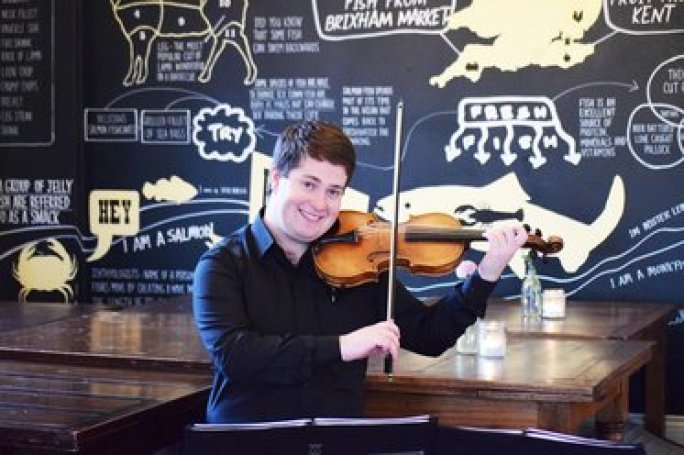Violinist Jaya Hanley