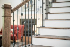 Stair details are design center options