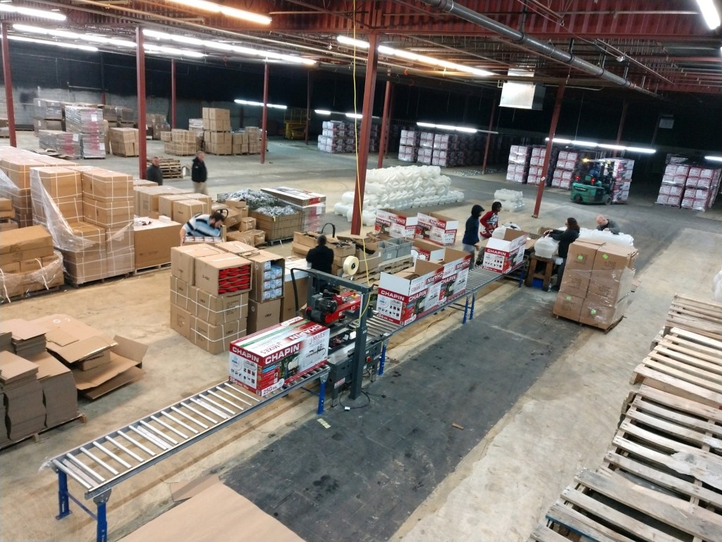 Warehouse at CCM
