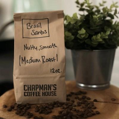 Chapman's Coffee Brazil Santos