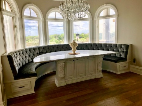 Bench seat and table