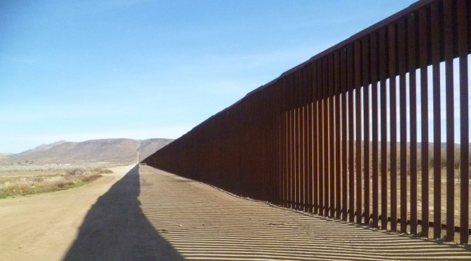 And this wall will cost how much?