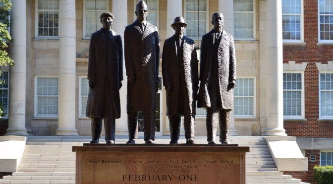 The Greensboro Four – 60 Years Ago