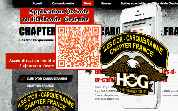 Qr Iles d'Or Carqueiranne Chapter 83 VAR France
