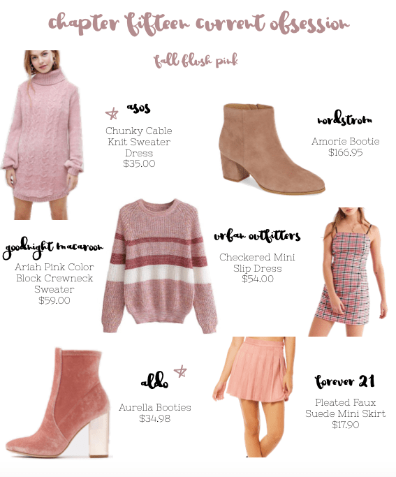 Fall Blush Pink