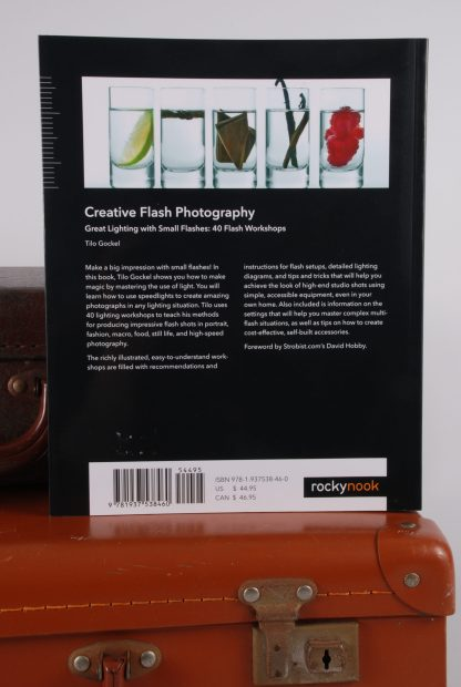 Creative Flash Photography - Back Cover - Book
