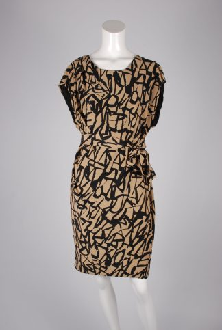 Whistles Silk Dress - Size 12 - Front Mannequin