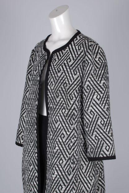 New World Geometric Jacket - Size 16 - Side Detail
