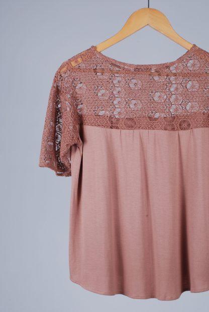 MNG Suit Crochet Top - Size S - Back