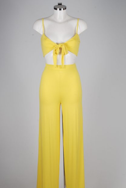 Yellow Jersey Co-Ord Set - Size 10 - Mannequin