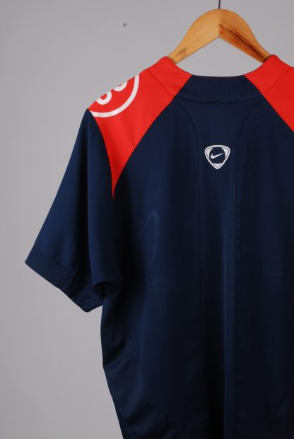 Nike Blue & Red Tee - Size M - Back Detail