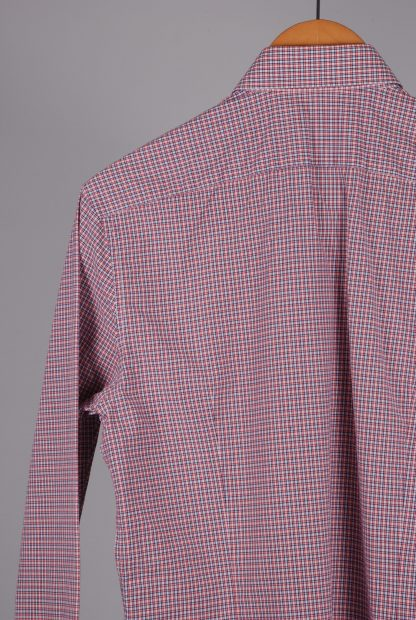 Reiss Blue & Red Check Shirt - Size M - Back Detail