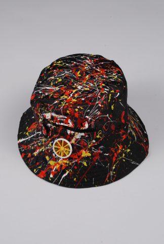Paint Splatter Bucket Hat - Accessory - Front
