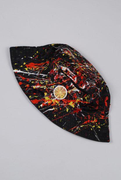 Paint Splatter Bucket Hat - Accessory - Side