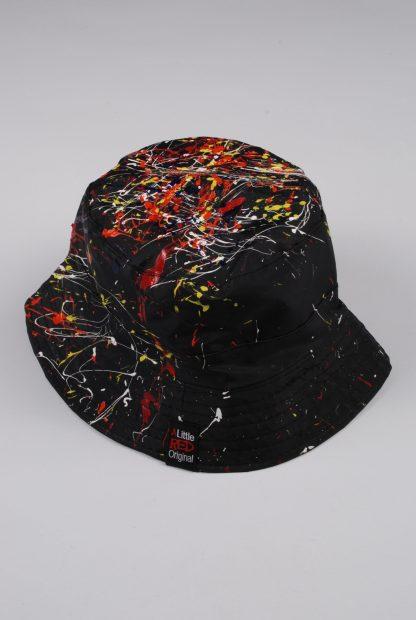 Paint Splatter Bucket Hat - Accessory - Back