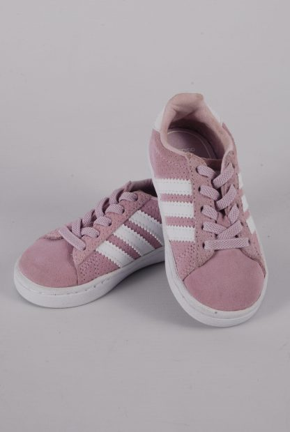 Adidas Ortholite Pink Trainers - Size 5 - Front