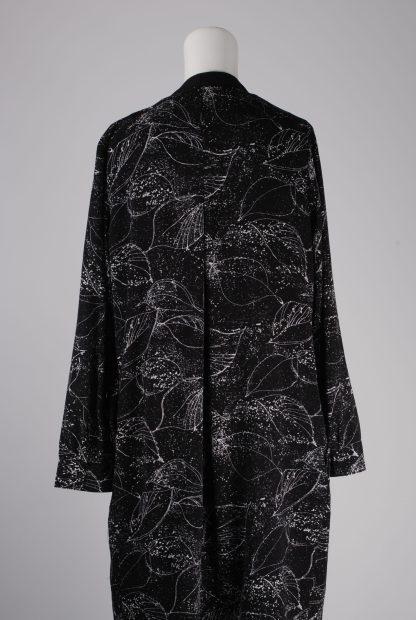 Y.A.S Leaf Pattern Jacket - Size L - Back Detail