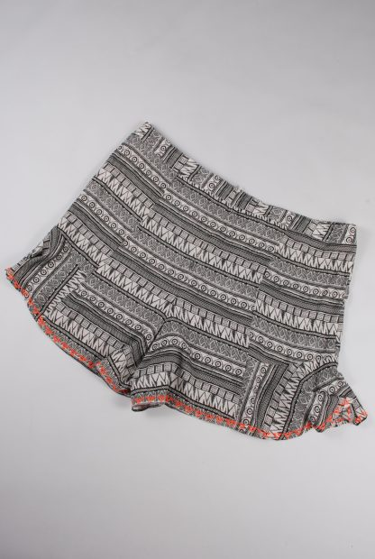 Alice & You Abstract Pattern Shorts - Size 18 - Back