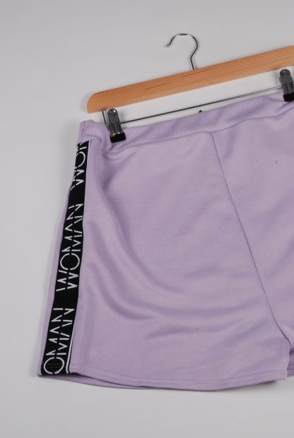 Boohoo Woman Purple Shorts - Size 16 - Back Detail