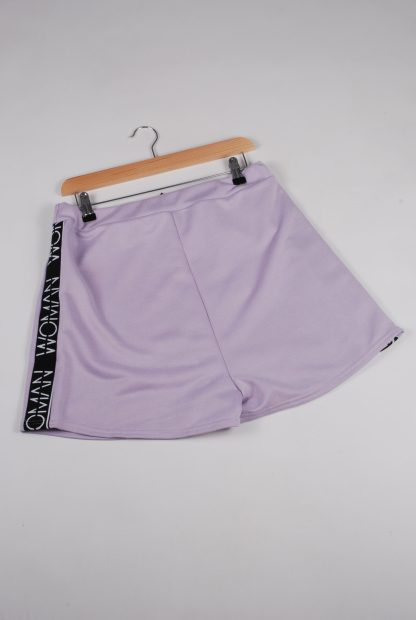 Boohoo Woman Purple Shorts - Size 16 - Back
