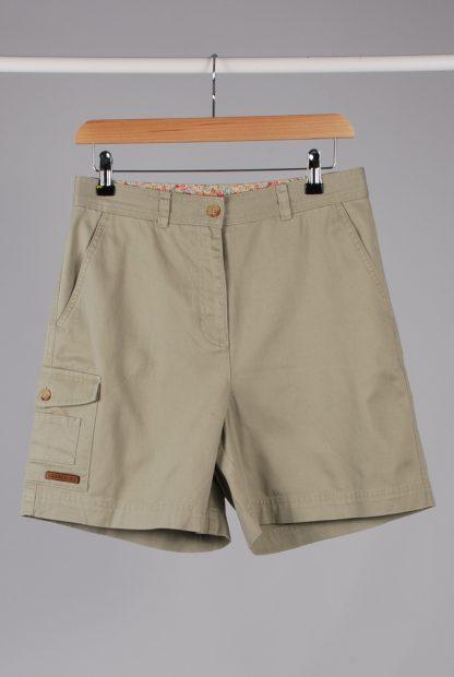 Lauren Ralph Lauren Green Cargo Shorts - Size 10 - Front