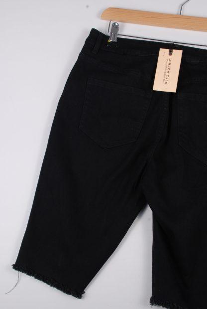 London Crew Black Shorts - Size S - Back Detail