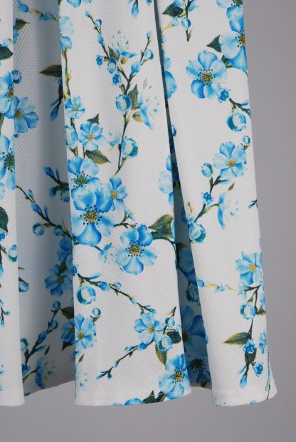 Glamorous Floral A-Line Midi Skirt - Size 10 - Back Detail