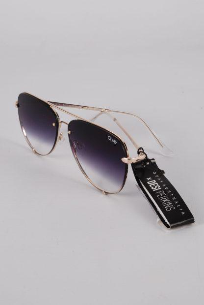 Quay Australia x Desi Perkins High Key Sunglasses - Side Detail