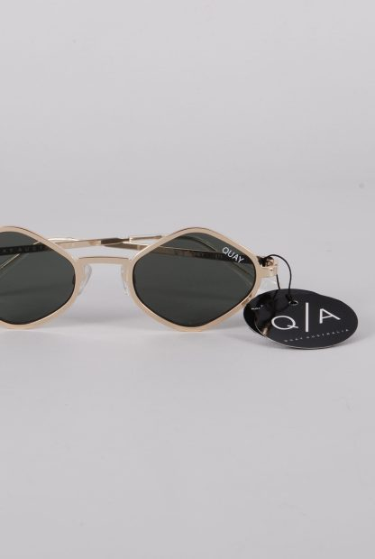 Quay Australia x Kylie Jenner Purple Honey Sunglasses - Front Detail