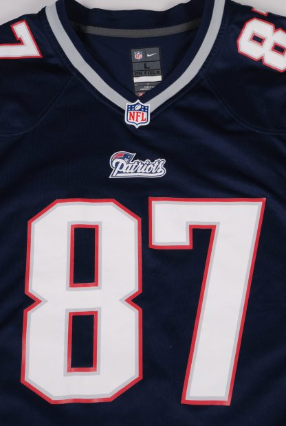 NFL New England Patriots Jersey - Size L - Front Branding