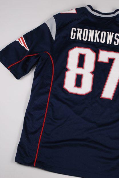 NFL New England Patriots Jersey - Size L - Back Detail